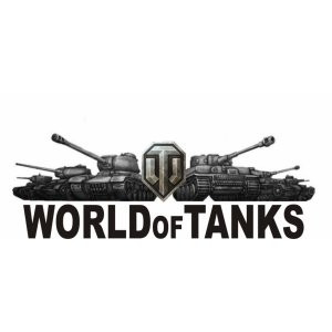 Наклейка на авто World Of Tanks - WoT версия 1