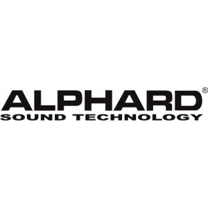 Наклейка на авто Alphard sound technology