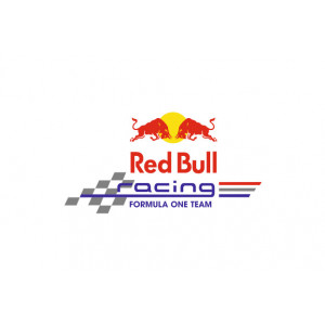 Наклейка на авто Red Bull racing formula one team