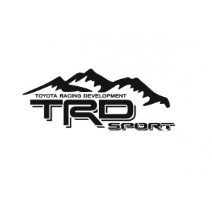 Наклейка на авто TRD Sport Toyota Racing Development